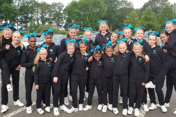 Elite Cheerleading Championships in Moviepark - juni 2019
