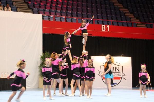EK Cheerleading Den Bosch juni 2018